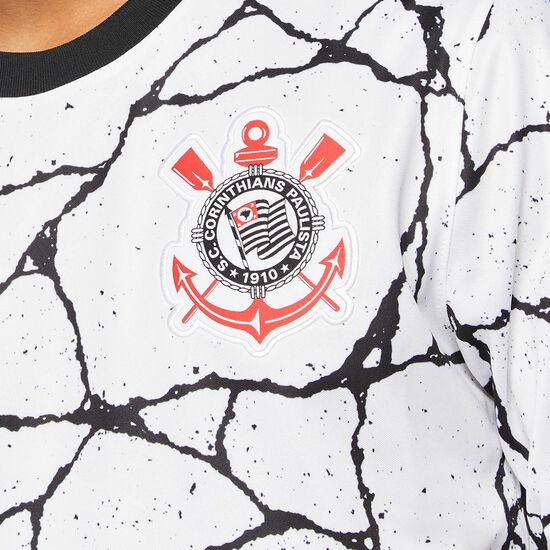 SC Corinthians Paulista Trikot Home Stadium 2021/2022 Herren, weiß / schwarz, zoom bei OUTFITTER Online