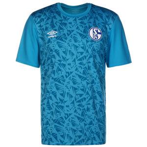 FC Schalke 04 Warm Up Trainingsshirt Herren, hellblau / weiß, zoom bei OUTFITTER Online