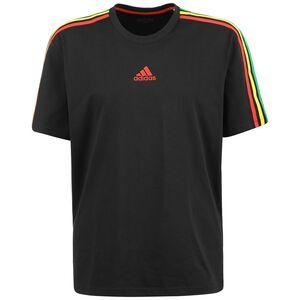 Ajax Amsterdam Icon T-Shirt Herren, schwarz / bunt, zoom bei OUTFITTER Online