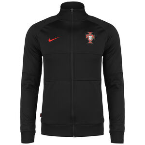 Portugal I96 Anthem Jacke EM 2021 Herren, schwarz / rot, zoom bei OUTFITTER Online