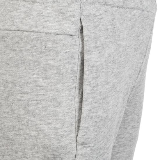 Essentials Linear Trainingshose Kinder, grau / pink, zoom bei OUTFITTER Online
