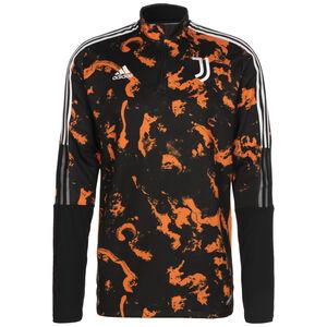 Juventus Turin AOP Longsleeve Herren, schwarz / orange, zoom bei OUTFITTER Online