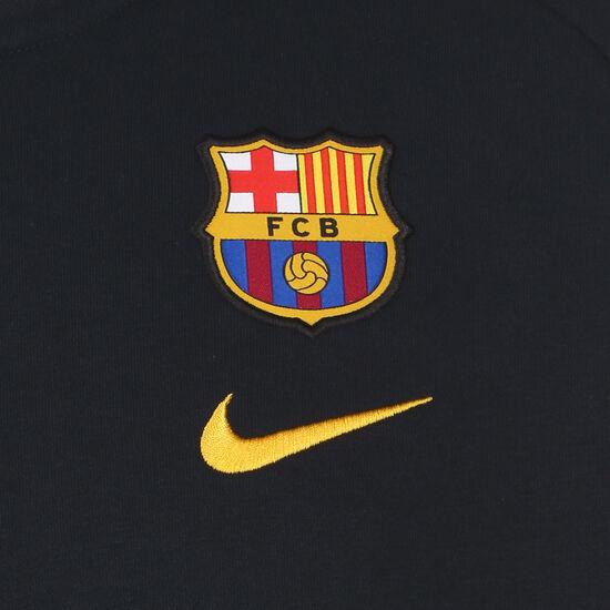 FC Barcelona Fleece Sweatjacke Herren, dunkelblau / gelb, zoom bei OUTFITTER Online