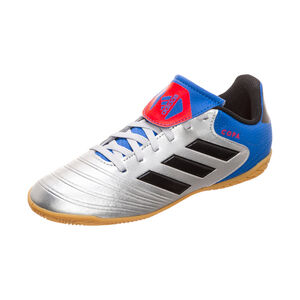Copa Tango 18.4 Indoor Fußballschuh Kinder, Silber, zoom bei OUTFITTER Online