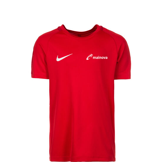 Mainova Dry Academy 18 Trainingsshirt Kinder, rot, zoom bei OUTFITTER Online