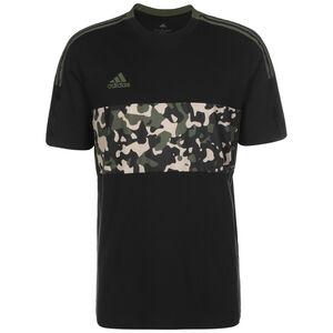 Tiro AOP T-Shirt Herren, schwarz / oliv, zoom bei OUTFITTER Online