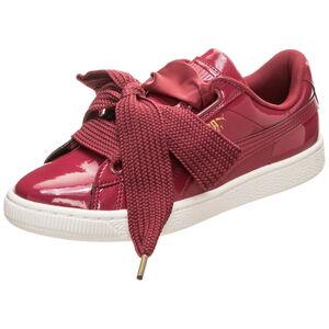 Basket Heart Patent Sneaker Damen, Rot, zoom bei OUTFITTER Online