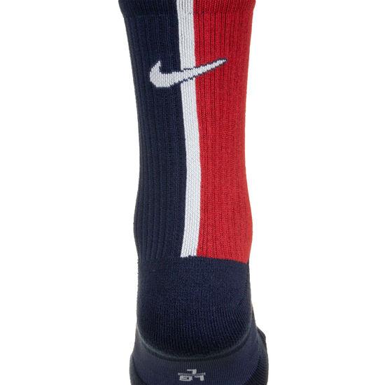 Paris St.-Germain Squad Crew Socken, dunkelblau / rot, zoom bei OUTFITTER Online