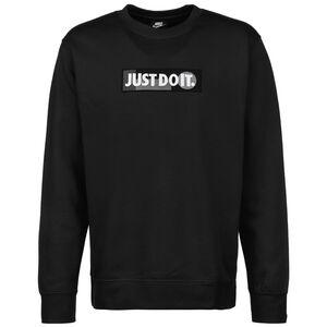 Just Do It Crew Fleece 365 Sweatshirt Herren, schwarz / weiß, zoom bei OUTFITTER Online