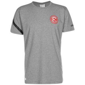 Fortuna Düsseldorf Essential Pro T-Shirt Herren, grau / schwarz, zoom bei OUTFITTER Online