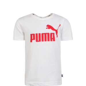 Essential Logo T-Shirt Kinder, weiß / rot, zoom bei OUTFITTER Online