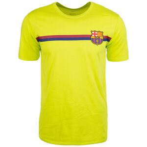 FC Barcelona Crest T-Shirt Herren, Gelb, zoom bei OUTFITTER Online