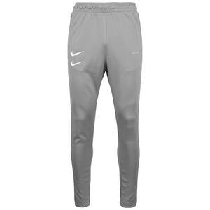 Swoosh Jogginghose Herren, grau / weiß, zoom bei OUTFITTER Online