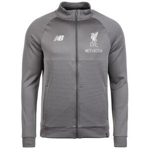 FC Liverpool Elite Trainingsjacke Herren, grau / weiß, zoom bei OUTFITTER Online