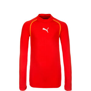 TB Warm Trainingsshirt Kinder, rot, zoom bei OUTFITTER Online