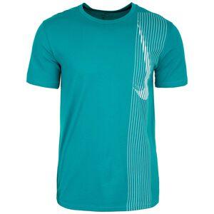 Dry Top Trainingsshirt Herren, petrol / dunkelblau, zoom bei OUTFITTER Online