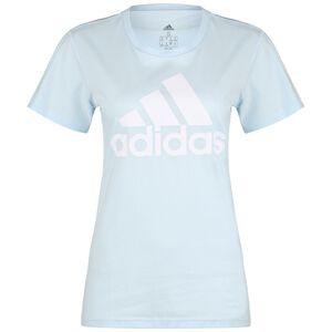 Must Haves Badge Of Sport Trainingsshirt Damen, hellblau / weiß, zoom bei OUTFITTER Online