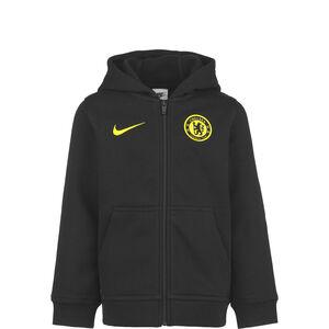 FC Chelsea Kapuzenjacke Kinder, schwarz / gelb, zoom bei OUTFITTER Online