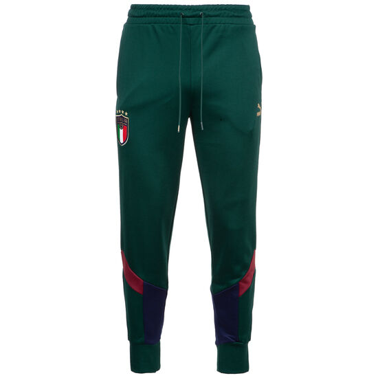 FIGC Italien Iconic MCS Jogginghose EM 2020 Herren, dunkelgrün / dunkelblau, zoom bei OUTFITTER Online
