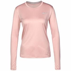 Miler Lauflongsleeve Damen, rosa / silber, zoom bei OUTFITTER Online