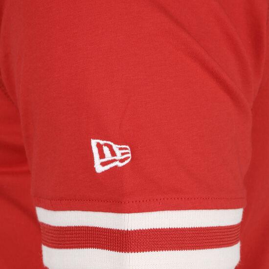 NBA Wordmark Chicago Bulls T-Shirt Herren, rot, zoom bei OUTFITTER Online