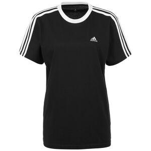3-Streifen T-Shirt Damen, schwarz / weiß, zoom bei OUTFITTER Online