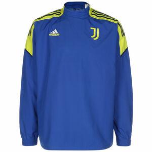 Juventus Turin Hybrid Trainingssweat Herren, blau / gelb, zoom bei OUTFITTER Online