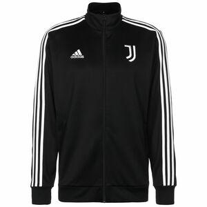 Juventus Turin 3-Streifen Trainingsjacke Herren, schwarz / weiß, zoom bei OUTFITTER Online