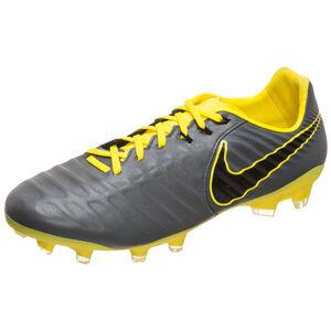 Tiempo Legend VII Pro FG Fußballschuh Herren, dunkelgrau / gelb, zoom bei OUTFITTER Online