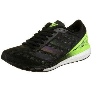 Adizero Boston 9 Laufschuh Herren, schwarz / neongrün, zoom bei OUTFITTER Online