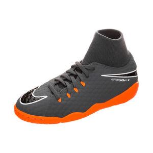 Hypervenom PhantomX III Academy DF Indoor Fußballschuh Kinder, Grau, zoom bei OUTFITTER Online
