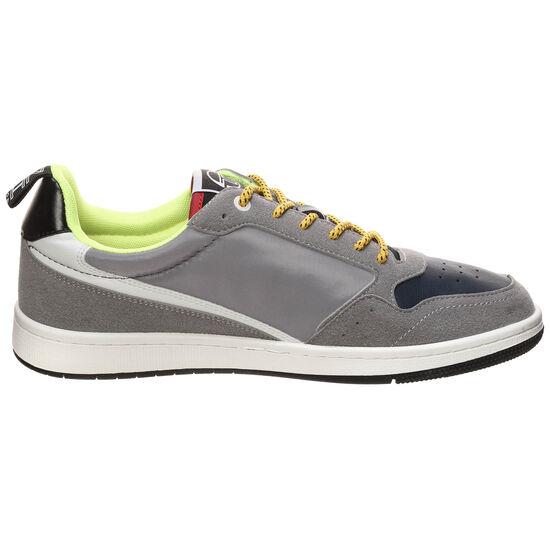 Jill Sport Mix Sneaker, grau / rot, zoom bei OUTFITTER Online