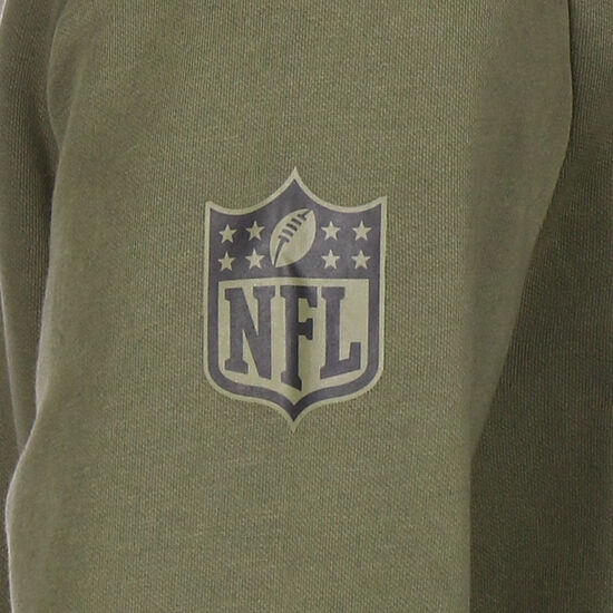 NFL San Francisco 49ers Digi Camo Kapuzenpullover Herren, oliv, zoom bei OUTFITTER Online