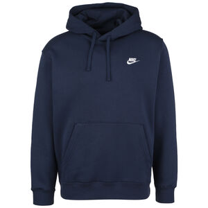 Sportswear Club Hoodie Herren, dunkelblau / weiß, zoom bei OUTFITTER Online