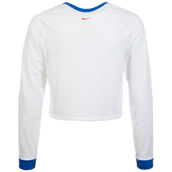 Hyper Laufshirt Damen, weiß / blau, zoom bei OUTFITTER Online