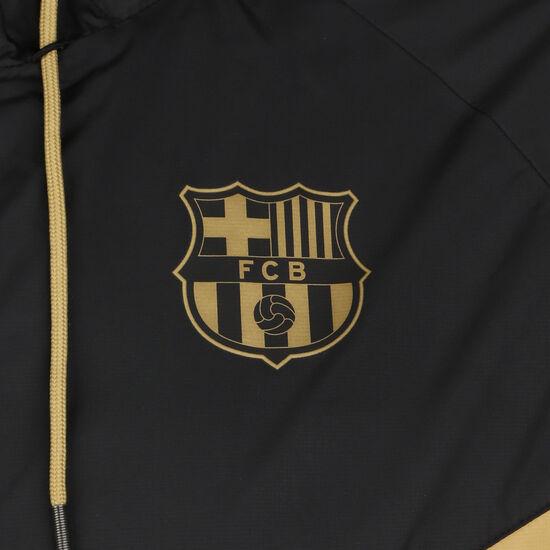FC Barcelona Authentic Windrunner Herren, gold / schwarz, zoom bei OUTFITTER Online