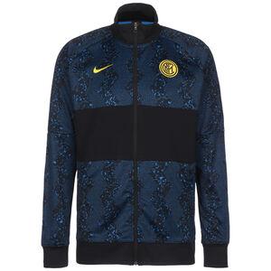 Inter Mailand I96 Anthem Jacke Herren, schwarz / dunkelblau, zoom bei OUTFITTER Online