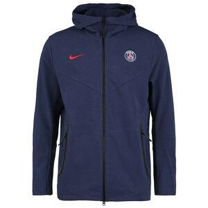Paris St.-Germain Tech Pack Kapuzenjacke Herren, dunkelblau / rot, zoom bei OUTFITTER Online