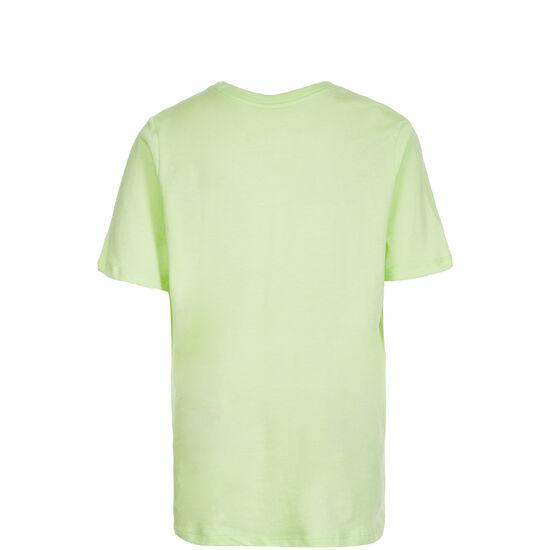 FC Barcelona Crest T-Shirt Kinder, lime / schwarz, zoom bei OUTFITTER Online