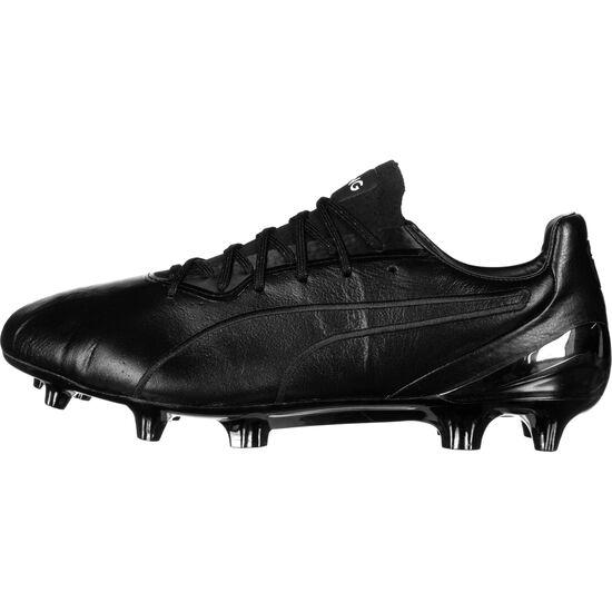 King Platinum MG Fußballschuh Herren, schwarz / weiß, zoom bei OUTFITTER Online