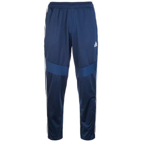Tiro 19 Polyester Trainingshose Herren, dunkelblau / weiß, zoom bei OUTFITTER Online