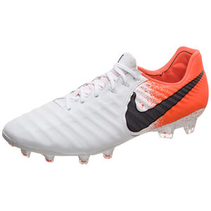 Tiempo Legend VII Elite FG Fußballschuh Herren, weiß / orange, zoom bei OUTFITTER Online
