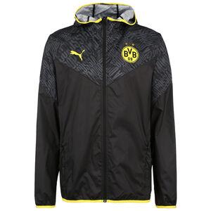 Borussia Dortmund BVB Warm-Up Trainingsjacke Herren, schwarz / gelb, zoom bei OUTFITTER Online