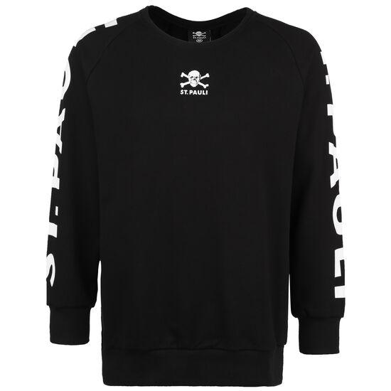 Totenkopf Block Sweatshirt Herren, schwarz / weiß, zoom bei OUTFITTER Online