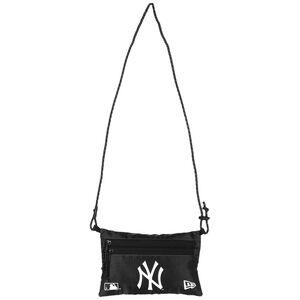 MLB New York Yankees Mini Sacoche Umhängetasche, schwarz / weiß, zoom bei OUTFITTER Online