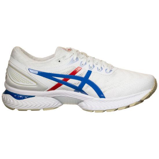 Gel-Nimbus 22 Laufschuh Herren, weiß / blau, zoom bei OUTFITTER Online