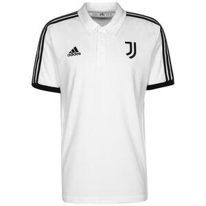 Juventus Turin 3-Streifen Poloshirt Herren, weiß / schwarz, zoom bei OUTFITTER Online