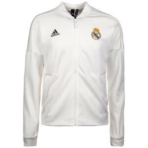 Real Madrid Z.N.E. Anthem Jacke Herren, Weiß, zoom bei OUTFITTER Online