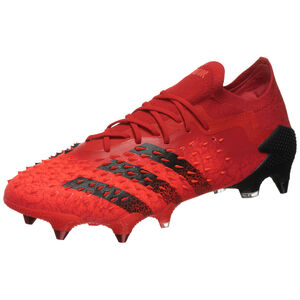 Predator Freak .1 L SG Fußballschuh Herren, rot / schwarz, zoom bei OUTFITTER Online