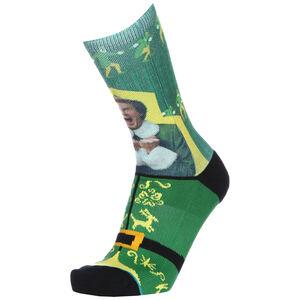 I Know Him Crew Socken, grün / gelb, zoom bei OUTFITTER Online